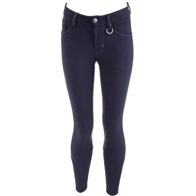 BR Breeches Milo Silicon Seat Navy
