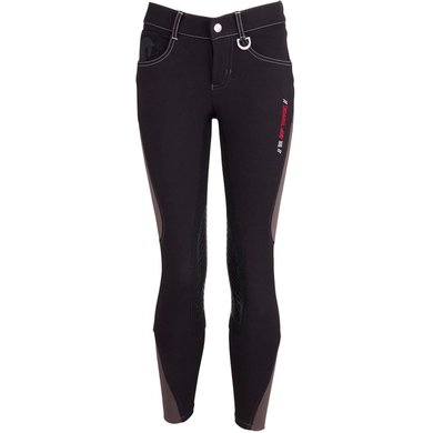 BR Breeches Mika Silicon Knee Pads Black