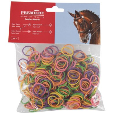 Premiere Mane Elastic Bag Multi-Colour 500 Pcs