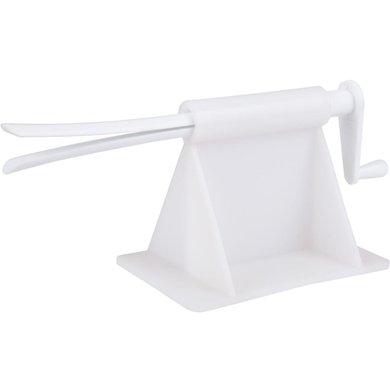 Agradi Enrouleur de Bandes Plastique Blanc