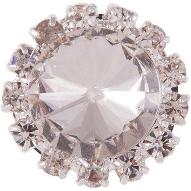BR Plastronspeld Crystal Silver