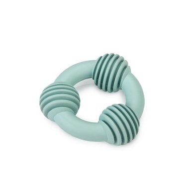 Beeztees Dental Ring Rubber Puppy Groen 8cm
