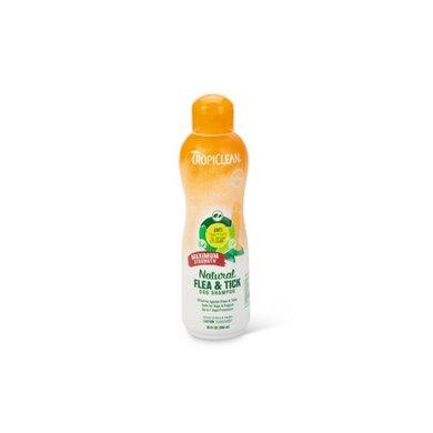 Tropiclean Flea Tick Shampoo Strength 592ml