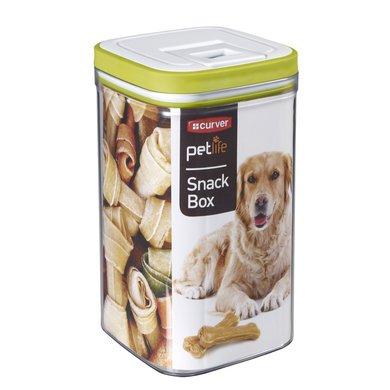 Curver Snackbox Hond Wit 12x12x20cm