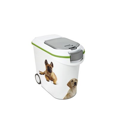 Curver Voedselcontainer Hond Wit/Groen