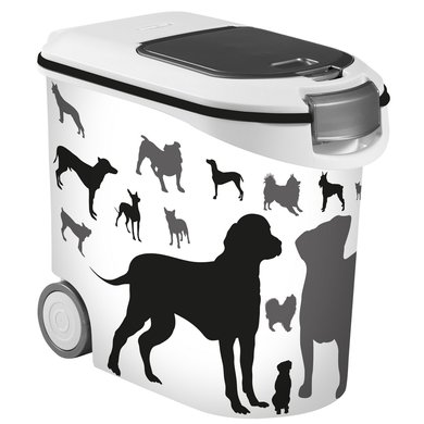 Curver Voedselcontainer Silhouette Hond 35 Liter