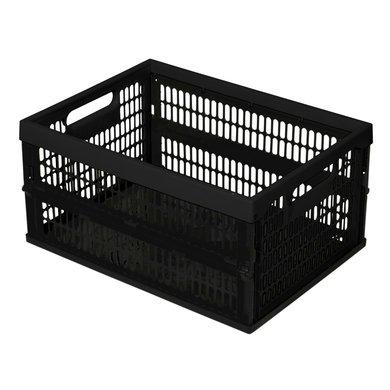 Curver Folding Crate Black 34L