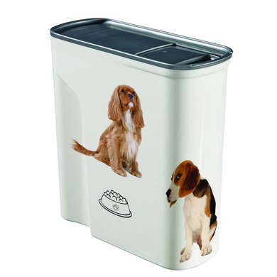 Curver Voedselcontainer Hond Wit 27x11x28cm