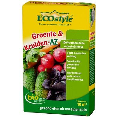 Ecostyle Groente En Kruiden Mes 1kg