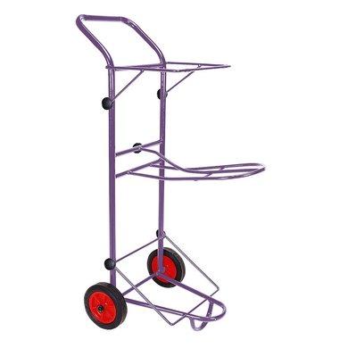 Agradi Sattelkarre Violett L 55 x B 40 x H 130cm