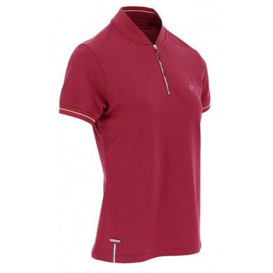EQUITHÈME Polo Shirt Sierra Bordeaux XS