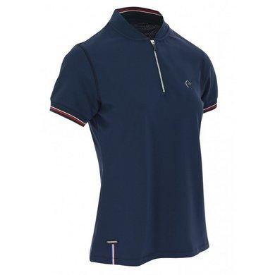 EQUITHÈME Polo Shirt Sierra Marineblauw XS