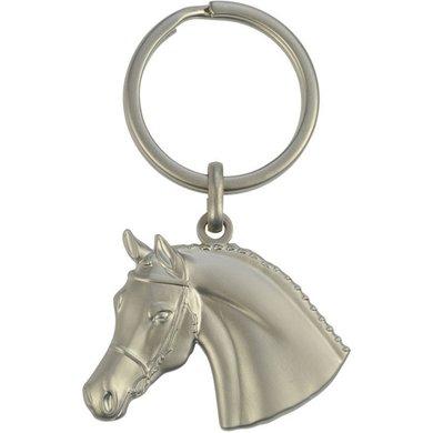 Agradi Schlüsselanhänger 3D Pferdekopf Kunststoff