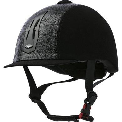 Choplin Cap Verstelbaar Zwart/Chroom