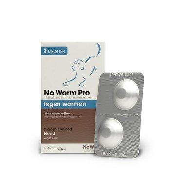 No Worm Exitel Hond L 2 Tabletten