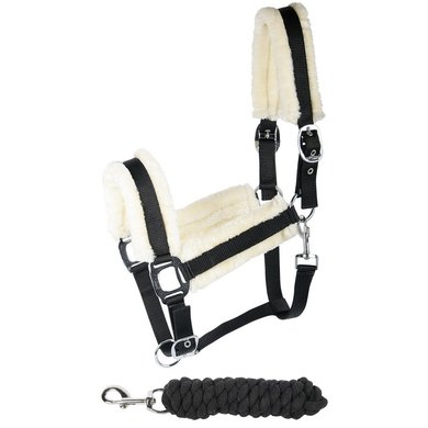 Harry Horse Halsterset Soft Zwart