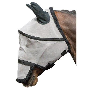 Harrys Horse Fliegenschutzmaske B-free Grau/Schwarz