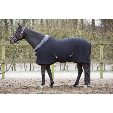 harrys horse fleecedecke furby set mit strick und halfter schwarz. Black Bedroom Furniture Sets. Home Design Ideas