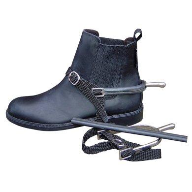 Harrys Horse Sporenschutz aus Gummi Schwarz