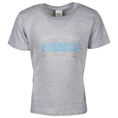 Harrys Horse Shirt Junior Melange Grey