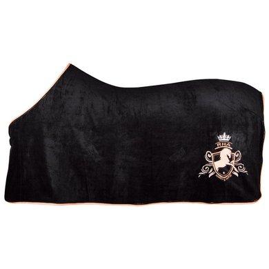 Harrys Horse Couverture Polaire Rosegold noir/Rose