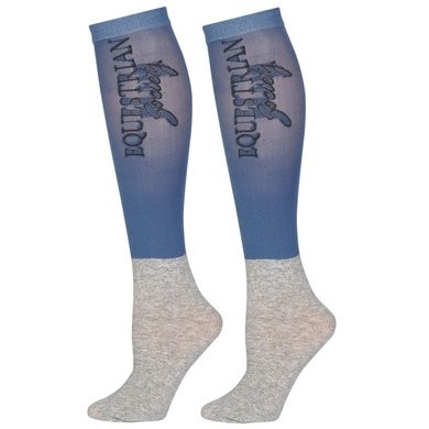 Harrys Horse Showkous SU20 3-pack Aegean-Blue M