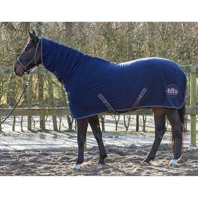 Harrys Horse Fleecedeken WI18 met Hals Dress Blues 115/165