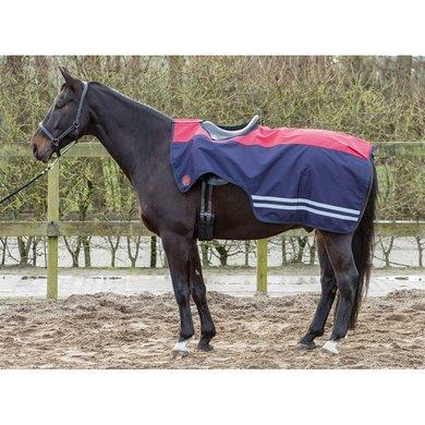 Harrys Horse Uitrijdeken 0g Fleece True Red L