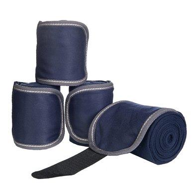 HKM Bandages Fleece Donker Blauw 300cm