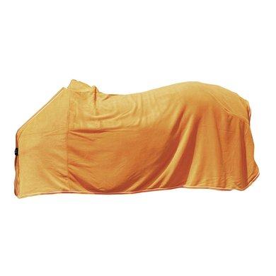 Hkm Zweetdeken Oranje/zilver 165/215