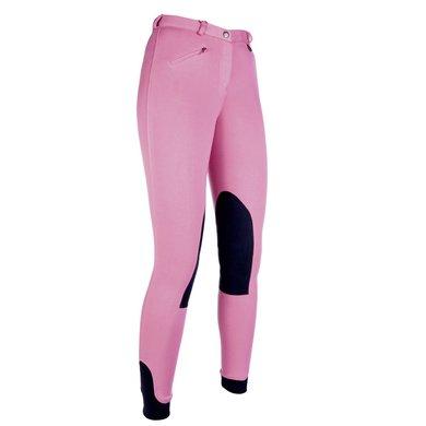Hkm Rijbroek Penny Easy Met Softline Knievlak roze/Donkerblauw