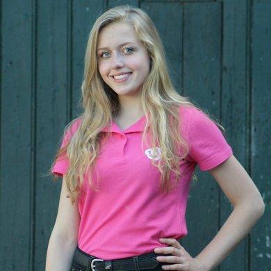 HoefWijzer Polo Volwassen Pink L