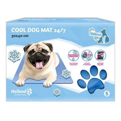 Coolpets Dog Mat 24/7 Blauw 40x30cm