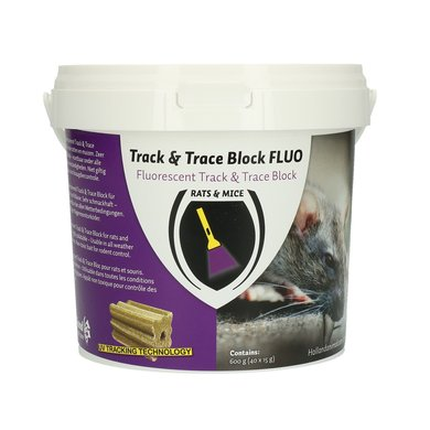 Track and Trace Block Fluo 600g