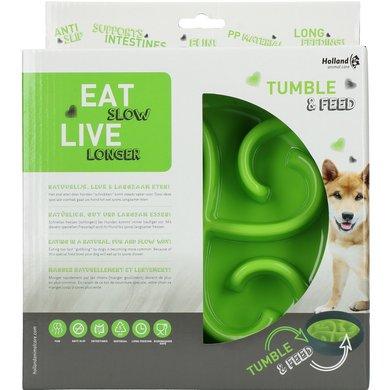 Eat Slow Live Longer Tumble Feeder Green 1 st