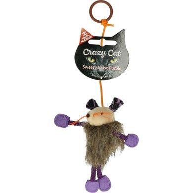 Crazy Cat Sweet Mouse Vol met Madnip Paars
