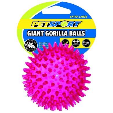 Petsport Gorilla Ball Giant Roze Xl 12,5cm