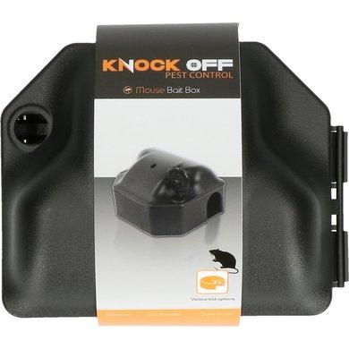 Knock Off Voerdoos Muis Incl. Sleutel 12,5x10,5x6,5cm