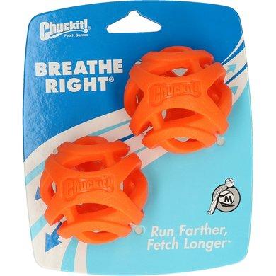 Chuckit Bal Breathe Right Fetch 2-pack Oranje 6,4cm