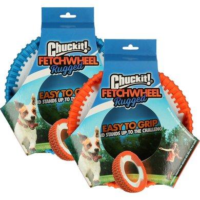 Chuckit Wheel Rugged Fetch Oranje/Blauw 20cm