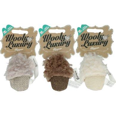 Wooly Luxury Slipper Grijs 10cm