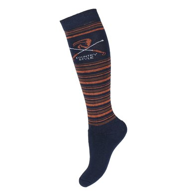 Horka Socken Country Stripe Blue L