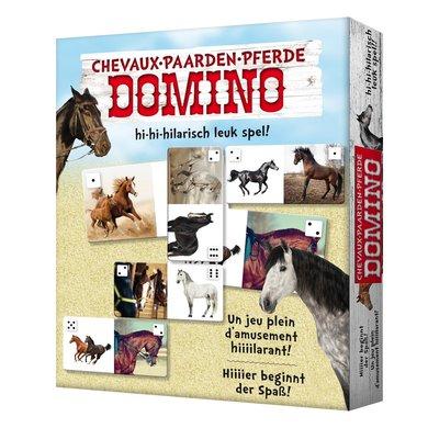 Red Horse Dominospel met leuke Paardenplaatjes Paard