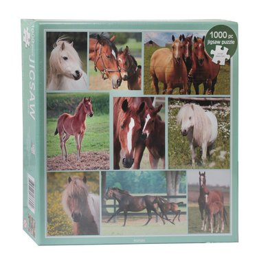 Red Horse Puzzel Paarden Horses