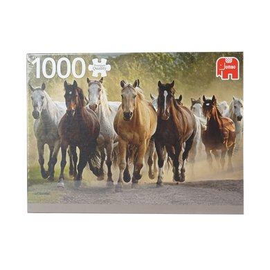 Red Horse Puzzel Wilde Paarden Wild Horses
