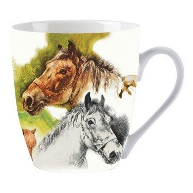 Red Horse Mok Paard Rien Poortvliet
