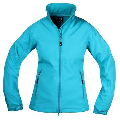 Horka Softshell Jacket Silhouette Blue Lagoon 152