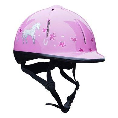Red Horse Veiligheidshelm Rider Pink XS/S