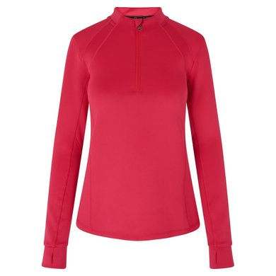 HV Polo Top Nikki met Halve Rits Ruby pink S