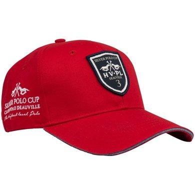 HV Polo Baseballcap Pim Red 1 Maat